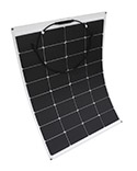Panel Solar 100W 12V Flexible Monocristalino