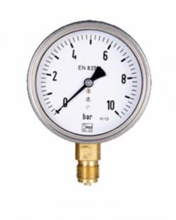 Manómetro Agua Limpia Glicerina 16Bar 63mm