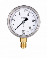 Manómetro Agua Limpia hasta 16Bar 50mm