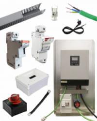 Kit Material Eléctrico 1000W 50A MPPT