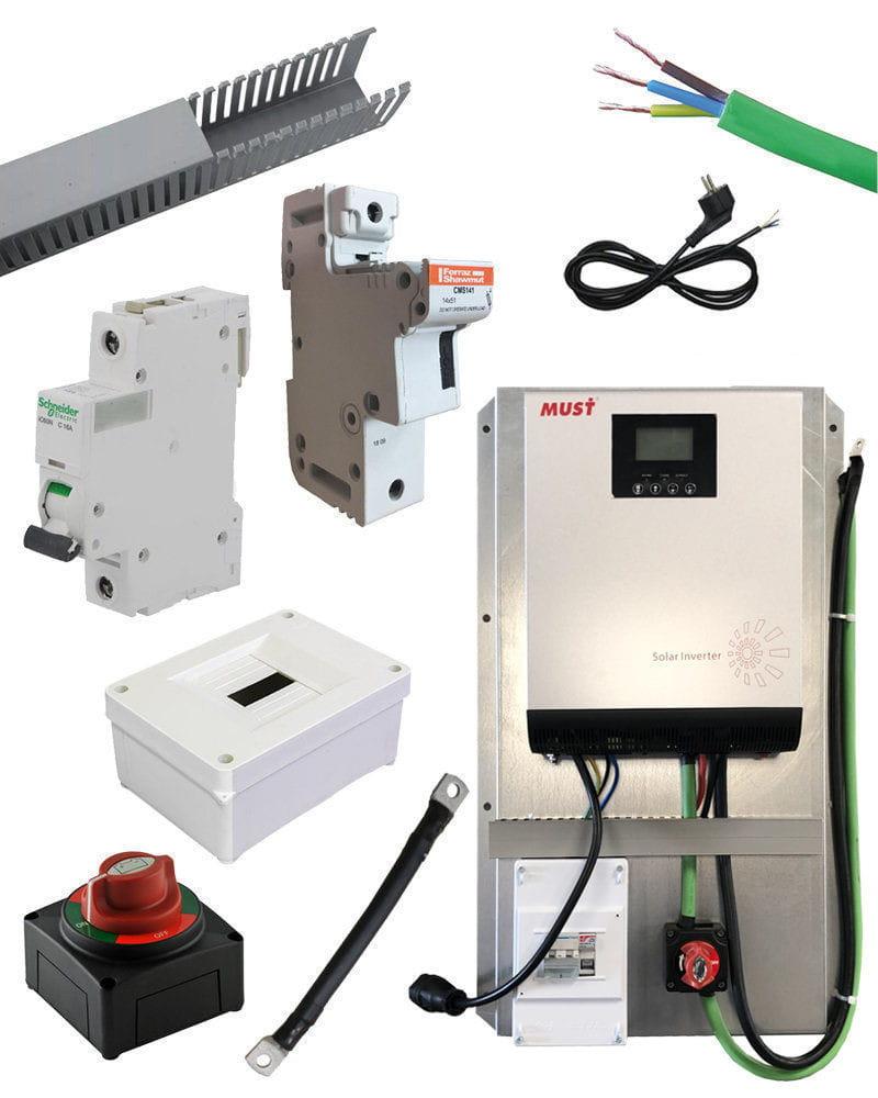 Kit Material Eléctrico 1000W 50A PWM
