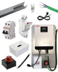Kit Material Eléctrico 3000W 50A
