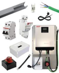 Kit Material Eléctrico 3000W 60A