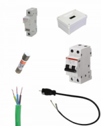 Kit Material Eléctrico 3000W Para Brackets