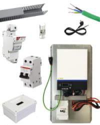 Kit Material Eléctrico 3000W Para Litio