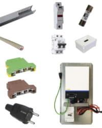 Kit Material Eléctrico 5000W Para Litio