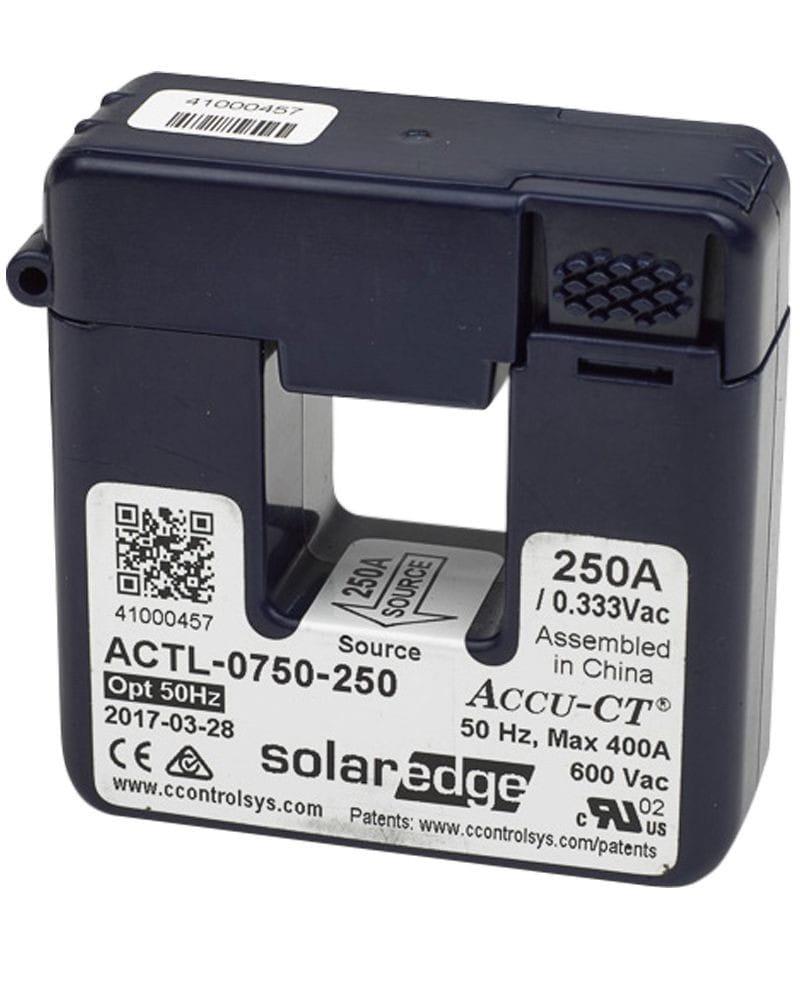 Pinza Toroidal SolarEdge 50A, 50Hz