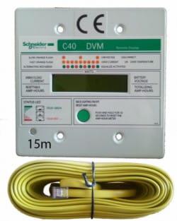 Display Regulador Carga Schneider Xantrex C35-C40-C60