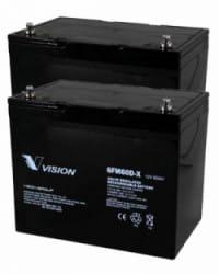 Batería 24V 60Ah AGM Ciclo Profundo VISION