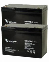 Batería 24V 90Ah AGM Ciclo Profundo VISION
