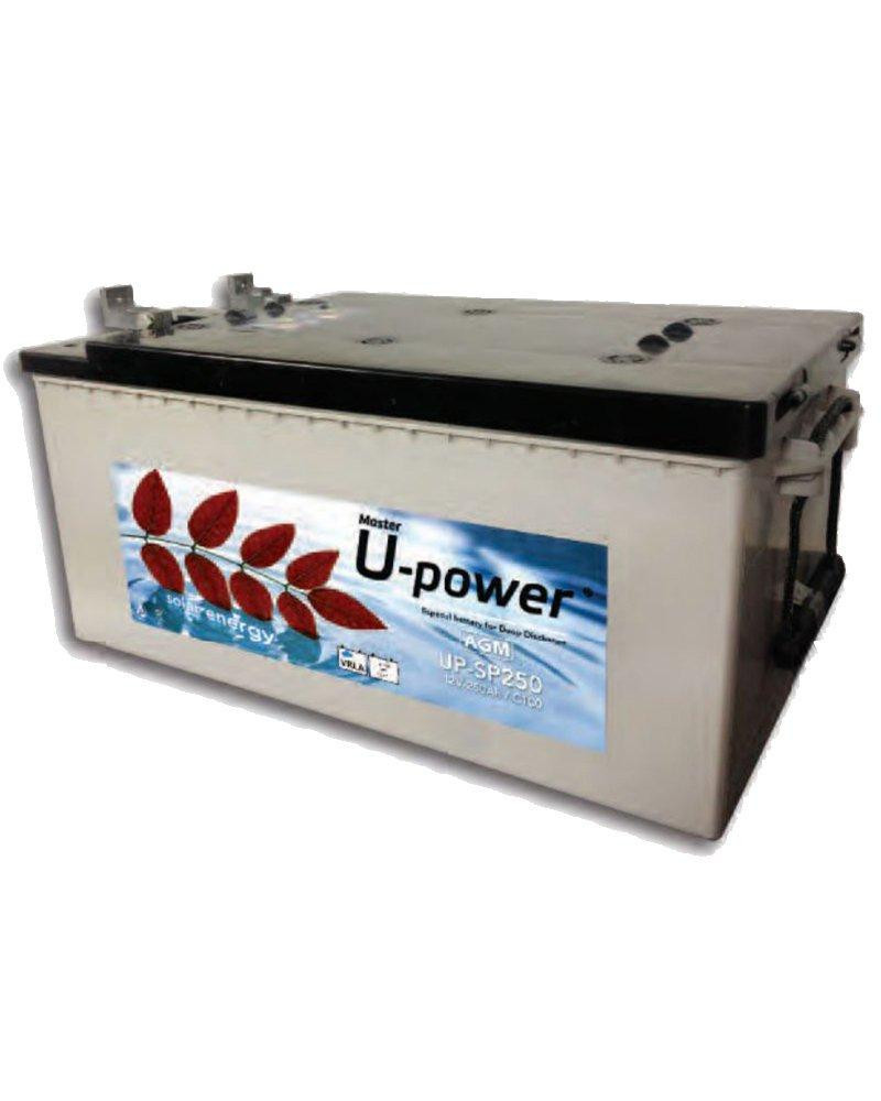 Batería 250Ah AGM 12V UPower SP250