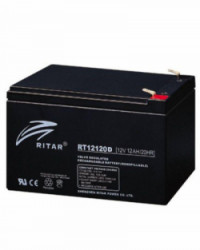 Batería AGM 12Ah 12V RITAR