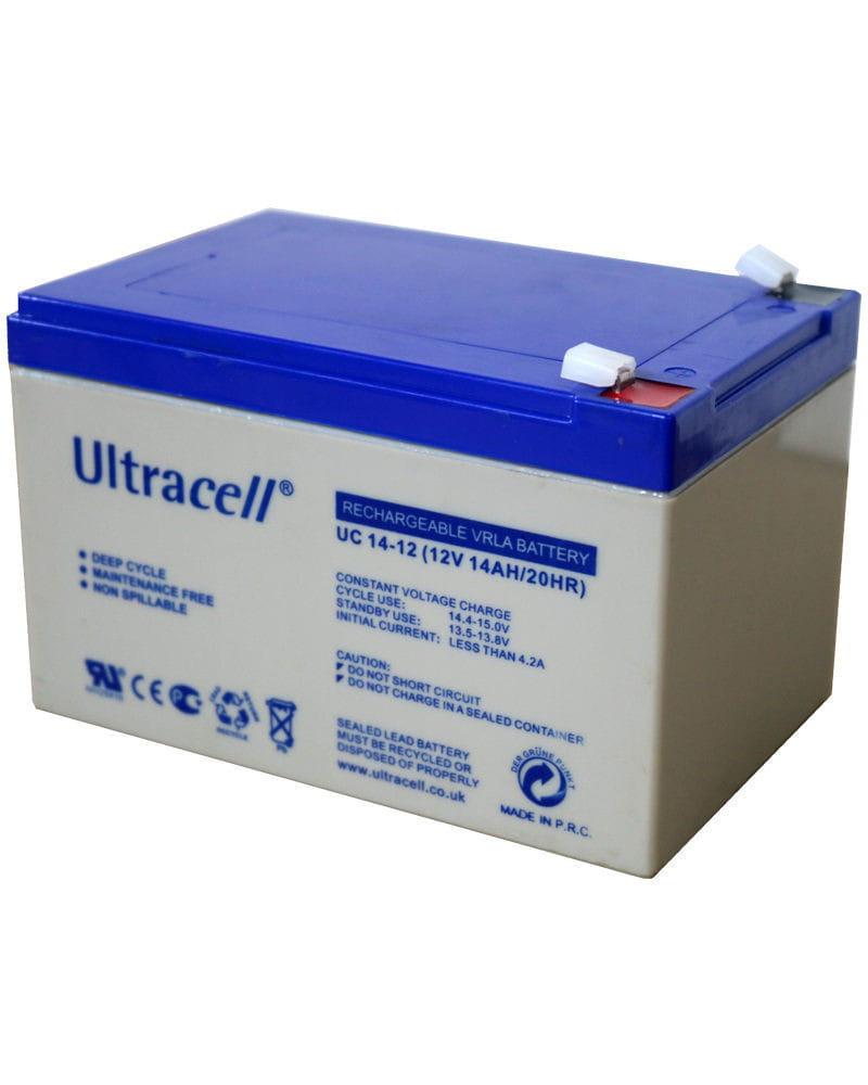 Batería AGM 12V 14Ah Ultracell UC-14-12