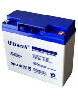 Batería AGM 12V 18Ah Ultracell UC-18-12