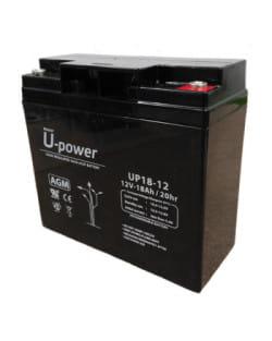 Batería AGM 12V 18Ah Upower