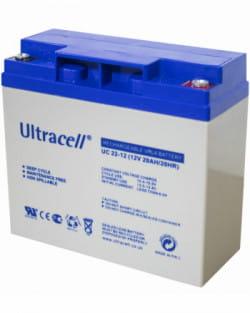 Batería AGM 12V 22Ah Ultracell UC-22-12