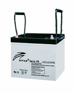 Batería AGM 12V 70Ah RITAR