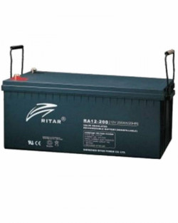 Batería AGM 200Ah 12V RITAR