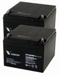 Batería AGM 24V 24Ah VISION
