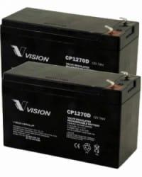 Batería AGM 24V 7Ah VISION