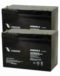 Batería AGM 24V 90Ah VISION