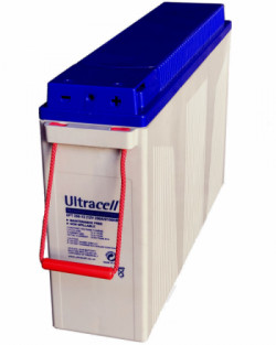 Batería AGM 250Ah Ultracell Frontal 12V