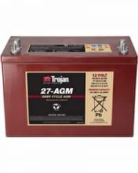 Batería AGM TROJAN 12V 99Ah 27-AGM