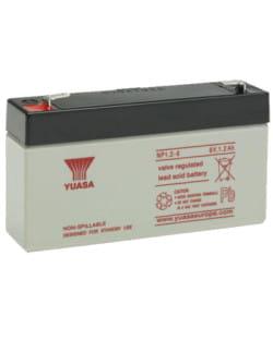 Batería Yuasa NP1.2-6 1.2Ah 6V
