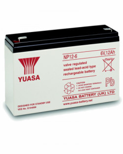 Batería Yuasa NP12-6 6V 12Ah