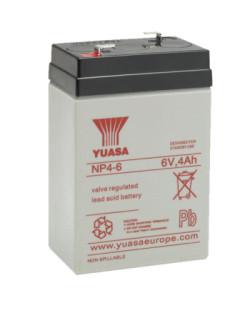 Batería Yuasa NP4-6 6V 4Ah