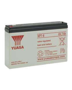 Batería Yuasa NP7-6 6V 7Ah