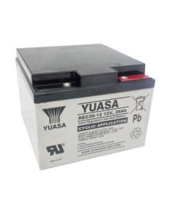 Batería Yuasa REC26-12 12V 26Ah