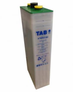Acumulador TAB Translúcido 2V 345Ah 3 TOPzS 265
