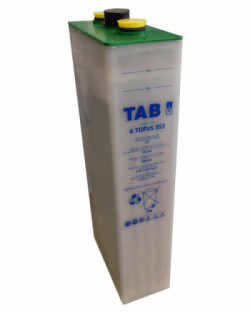Acumulador TAB Translúcido 2V 458Ah 4 TOPzS 353