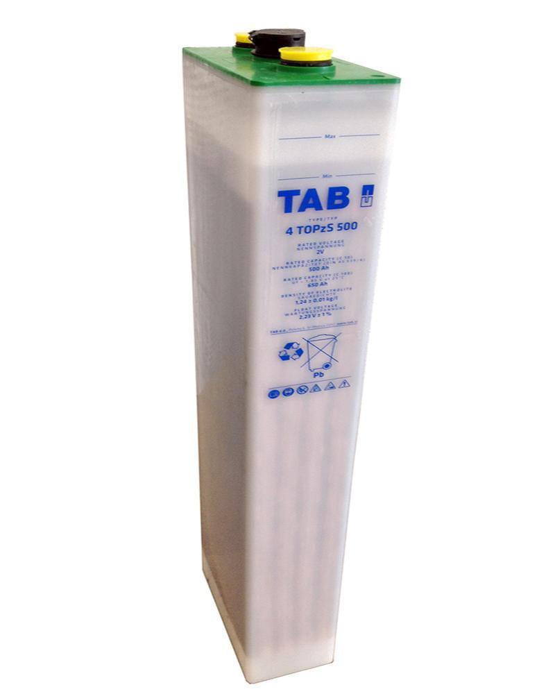 Acumulador TAB Translúcido 2V 650Ah 4 TOPzS 500