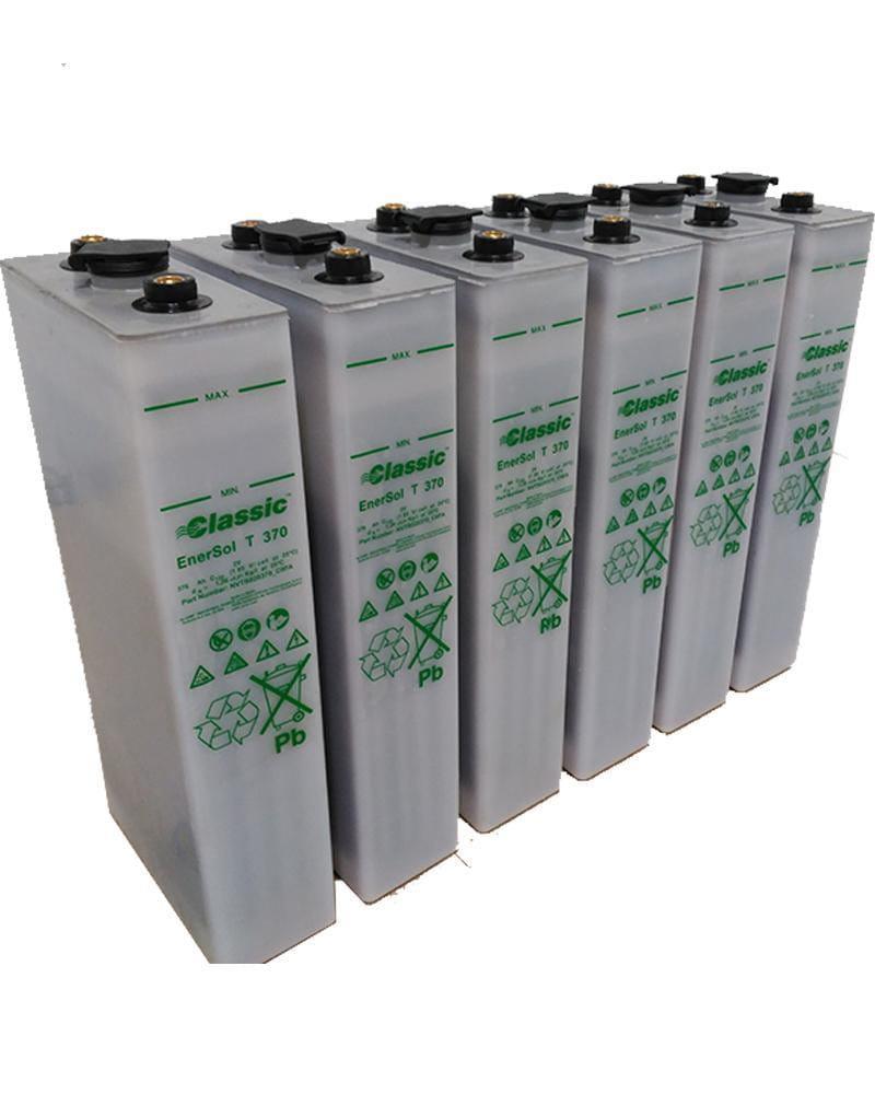 Batería Estacionaria 12V 376Ah Enersol-T 6 vasos