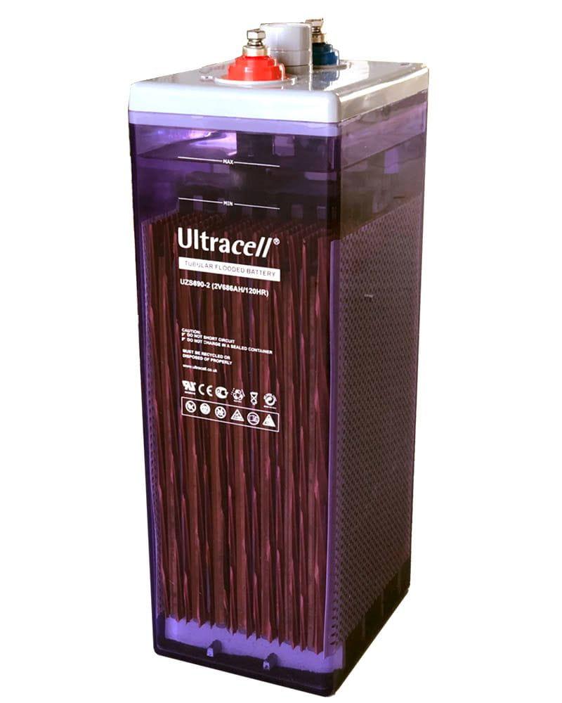 Batería Estacionaria 686Ah 2V OPzS Ultracell UZS690-2