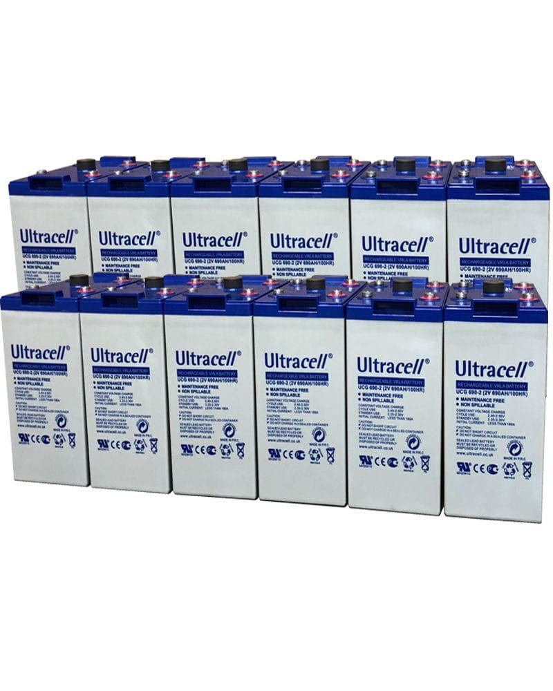 Batería GEL 24V 575Ah Ultracell UCG-575-2