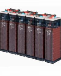 Batería OPzS 12V 660Ah Transparente (6 vasos)