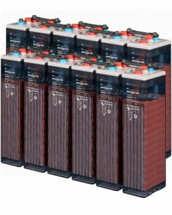 Batería OPzS 24V 550Ah Transparente Tudor-Exide