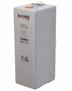 Batería OPzV 740Ah 2V Solar Bauer