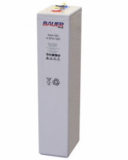 Batería OPzV 920Ah 2V Solar Bauer