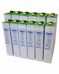 Batería Solar TAB 24V 458Ah 4 TOPzS 353