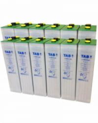 Batería Solar TAB 24V 575Ah 5 TOPzS 442