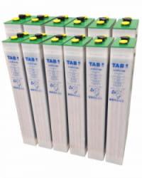 Batería Solar TAB 24V 650Ah 4 TOPzS 500
