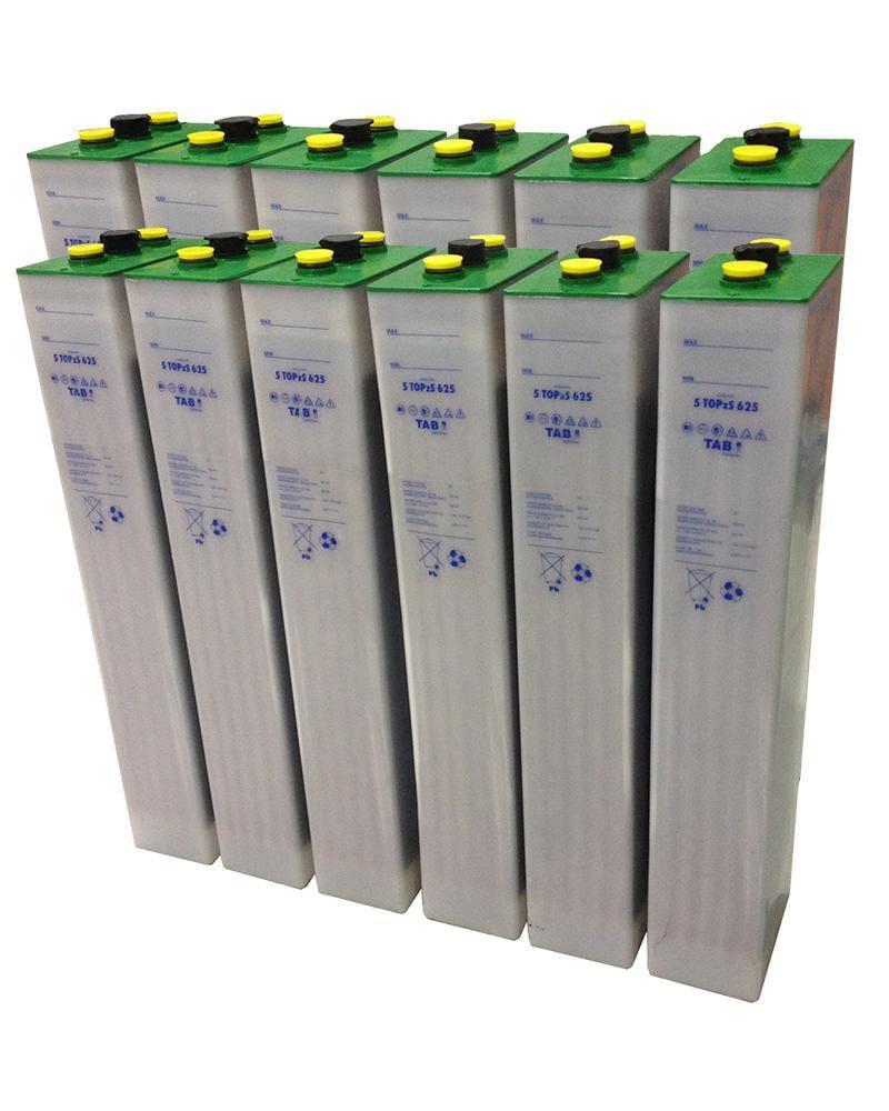Batería Solar TAB 24V 812Ah 5 TOPzS 625