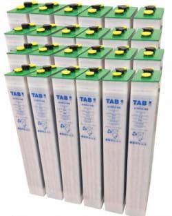 Batería Solar TAB 48V 575Ah 5 TOPzS 442