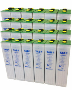 Batería Solar TAB 48V 650Ah 4 TOPzS 500