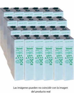 Batería TUDOR ENERSOL-T 48V 1020Ah Estacionaria 24 Vasos