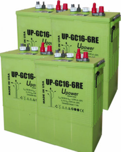 Batería UPower 550Ah 24V UP-GC16